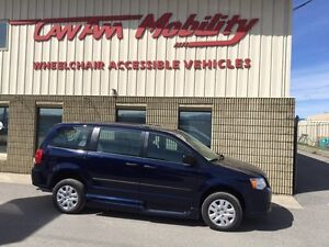 2017 Dodge Grand Caravan SE VMI Northstar E Manua Wheelchair Van