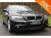 2009 59 BMW 3 SERIES 2.0 318D M SPORT TOURING 5D AUTO 141 BHP DIESEL