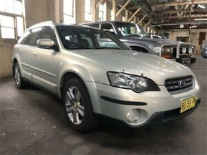 2004 Subaru Outback B4A MY04 Premium Pack Gold Sports Automatic Wagon Hamilton North Newcastle Area Preview