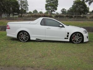 2010 Holden Special Vehicles Maloo E2 Series R8 White 6 Speed Manual Utility Mayfield East Newcastle Area Preview