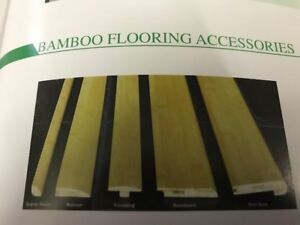 BAMBOO MOLDING INVENTORY CLEARANCE