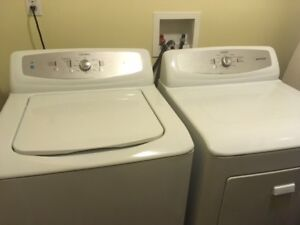Appliances - washer and dryer