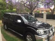 2008 D40 STX Nissan Navara 4x4 dual cab ute with canopy - manual Panorama Mitcham Area Preview