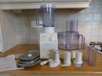 Food Processor. Moulinex Masterchef 650. with all attachments. Excellent condition. Coxhoe