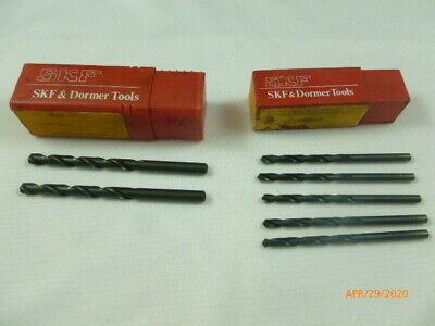 Skf Tools Jobber Drills Right Hand 316 14 Lot Of 7 Pcs