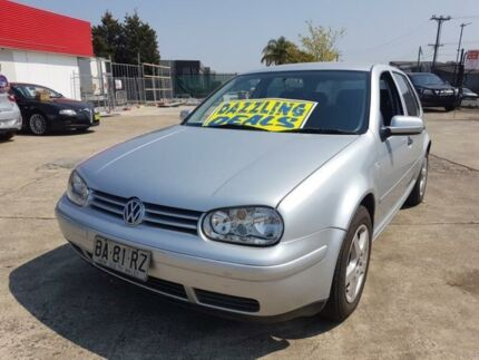 2001 Volkswagen Golf GLE Silver 4 Speed Automatic Hatchback Fairfield East Fairfield Area Preview