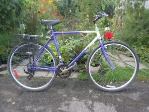 """velo homme 700c hybride AVP """"Balladeur"""" men bike"""