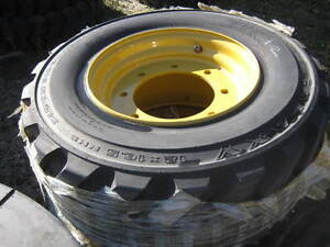 Various Unused Tires for Skidsteers & Loaders