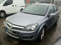 VAUXHALL ASTRA CHROME GRILL 2008 2009 COMPLETE INC BADGE BREAKING SPARES