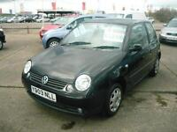 2001 Volkswagen Lupo S Auto Only 60K Miles!! 1.4