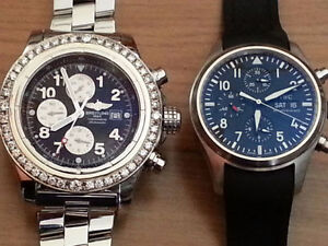 BREITLING S. AVENGER 48MM PLUS IWC PILOTE 41mm...9500$ for both