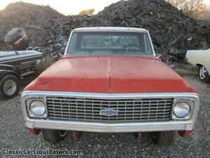 """1969-72 CHEV or GMC Pickup Truck """"Body Only"""""""