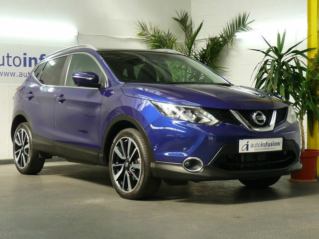 nissan qashqai 1 6 dci 130 xtronic cvt tekna 5 dr diesel. Black Bedroom Furniture Sets. Home Design Ideas