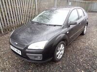 FORD FOCUS 1.6 PETROL SPORT 2007 5 DOOR BLACK 53,000 MILES FULL SERVICE HISTORY M.O.T 7/03/18