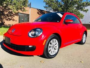 2014 Volkswagen Beetle 2.0 TDI With Panoramic Sky View SOLD