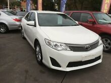 2012 Toyota Camry ASV50R Altise White 6 Speed Automatic Sedan Homebush Strathfield Area Preview