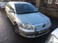 Toyota Avensis T2, New MOT, Serviced, Warranty, Outstanding Condition