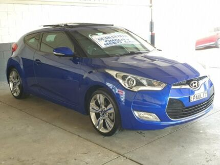 2014 Hyundai Veloster FS3 + Coupe D-CT Blue 6 Speed Sports Automatic Dual Clutch Hatchback Homebush Strathfield Area Preview