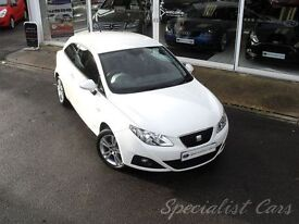 SEAT IBIZA 1.4 SE COPA 3d 85 BHP WATCH FULL HD VIDEO OF THIS (white) 2011