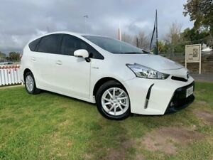 2015 Toyota Prius v ZVW40R White 1 Speed Constant Variable Wagon Hybrid Prospect Prospect Area Preview