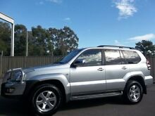 2005 Toyota Landcruiser Prado GRJ120R Grande (4x4) Silver 5 Speed Automatic Wagon Lalor Park Blacktown Area Preview