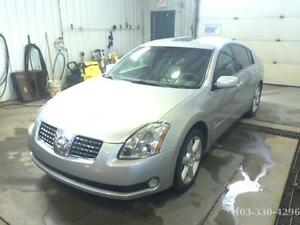 2004 Nissan Maxima loaded Sedan