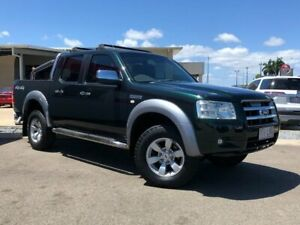 2008 Ford Ranger PJ XLT Crew Cab Green 5 Speed Manual Double Cab Pick Up