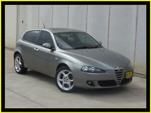 2005 Alfa Romeo 147 Selespeed Silver 5 Speed Automatic Selespeed Hatchback Penrith Penrith Area Preview
