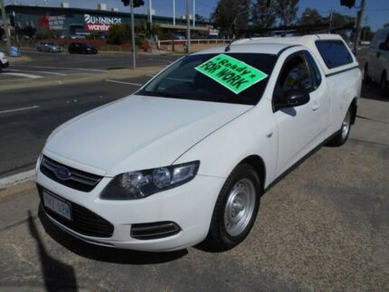 2014 Ford Falcon FG MkII Ute Super Cab White 6 Speed Sports Automatic Utility Fyshwick South Canberra Preview