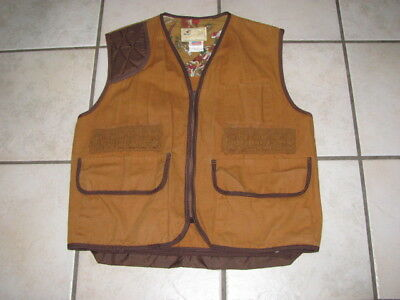 American Field Sportswear hunting bird pheasant vest game pocket MINT COND Large