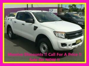 2011 Ford Ranger PX XL 2.2 Hi-Rider (4x2) White 6 Speed Manual Crew Cab Pickup Dubbo Dubbo Area Preview