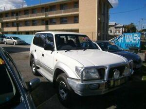 1999 Toyota Landcruiser Prado VZJ95R GXL White 5 Speed Manual Wagon Stafford Brisbane North West Preview