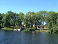 300 feet of waterfront on 12 acres in Massey for sale
