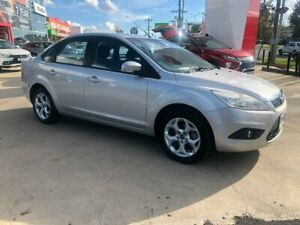 2011 Ford Focus LV Mk II LX Silver 4 Speed Sports Automatic Sedan Hoppers Crossing Wyndham Area Preview