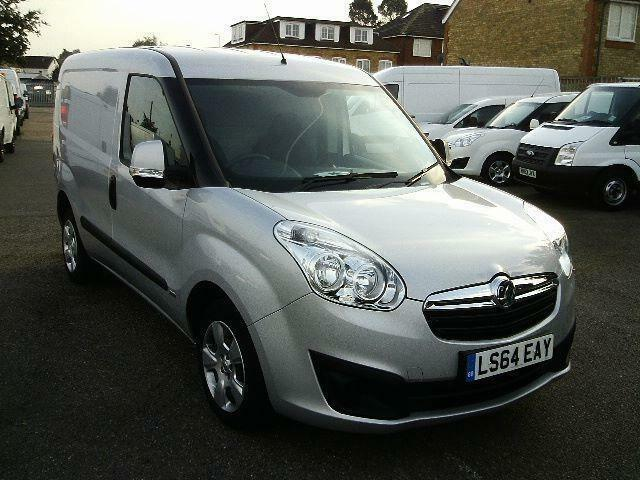 Vauxhall Combo 2000 1.3 CDTI 16V Sportive AIR CON DIESEL MANUAL SILVER (2014)