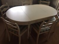Matching Dinging Table , 6 Chairs & Sideboard
