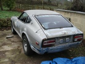 WANTED BARN FIND PROJECT RACE RALL CARS DATSUN TOYOTA MAZDA NISSAN TRIUMPH FORD