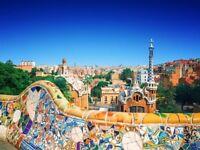 2 cheap flight tickets London - Barcelona 13.OCT - 15.OCT