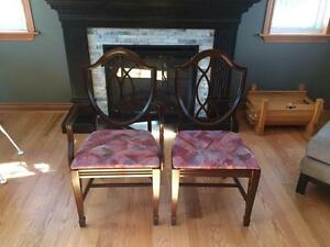 Dining Room Mahogany chairs