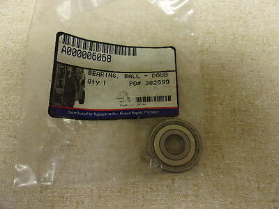 Promatch Forklift A000006068 Caterpillar Double Seal Ball Bearing Free Ship
