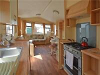Double Glazed and Heated 2 bed caravan with letting options on 12 month park