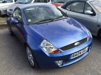 2004 Ford Street KA, starts and drives, being sold as spares or repair due to high clutch, hardtop r