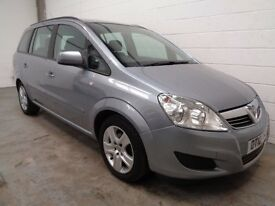 VAUXHALL ZAFIRA 7 SEAT MPV , 2010 REG, ONLY 51000 MILES + FULL HISTORY, YEARS MOT, FINANCE, WARRANTY