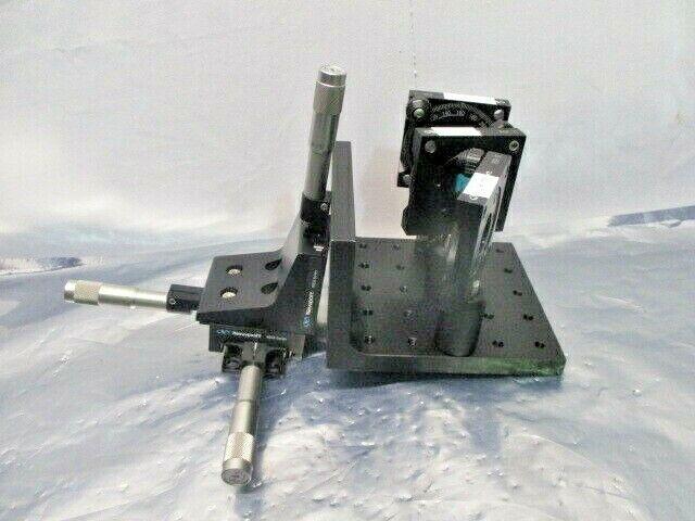 """Newport XYZ Laser Alignment Fixture Assy, 460A, RSP-1T Rotating Mt 1"""", 100298"""