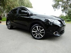 2015 Nissan Qashqai J11 TI Black 1 Speed Constant Variable Wagon Glenelg East Holdfast Bay Preview