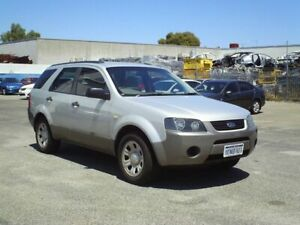 2007 Ford Territory Silver Automatic Wagon Embleton Bayswater Area Preview