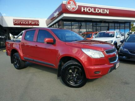 2015 Holden Colorado RG MY16 LS Crew Cab Red 6 Speed Sports Automatic Utility Beaudesert Ipswich South Preview