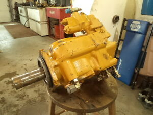 SKIDDER HYDRAULIC PUMP