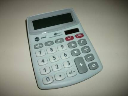 Marbig Solar Powered Calculator $6 Mandurah Mandurah Area Preview