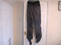 Womens size 12 Amaris rowing/sailing trousers with built in socks.